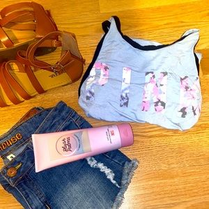 VS PINK || Super Soft Collection Tank